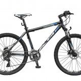 Bicicleta TERRANA 2627 - model 2015-Negru-Rosu-457 mm