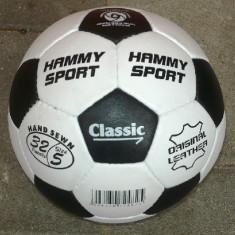 Minge fotbal - Minge de fotbal din piele Hummy Sport