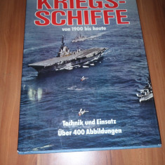 Carte militara - Germania - Nave de lupta