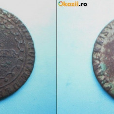 MONEDE AUSTRIA VECHI1. Moneda Austria1 kreutzer 1812, bronze., Europa