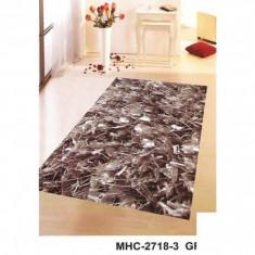 Covor vechi - Covor poliester MHC-2718-3 GREY - 90 x 160 cm