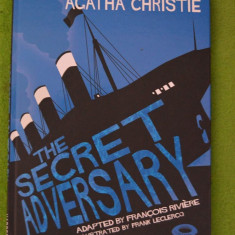 Carte benzi desenate in limba engleza: The Secret Adversary, de Agatha Christie - Reviste benzi desenate