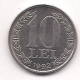 No(4) moneda- ROMANIA- 10 Lei 1992, An: 1944