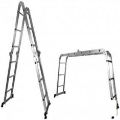 Scara/Schela constructii - Scara Multifunctionala din Aluminiu BUILDXCELL - 647651