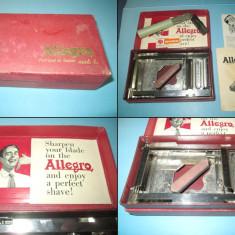 Allegro-aparat vintage de ascutit lame. Vanzare directa.