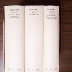 Opere, vol 1, 2, 3 - Petru Dumitriu (Academia Romana) Editie de lux, pe foita - Carte de lux