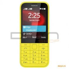 Telefon Nokia - Nokia Telefon mobil Nokia 225 Single Sim Yellow
