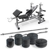 BANCA FITNESS MULTIFUNCTIONALA - Aparat multifunctionale fitness