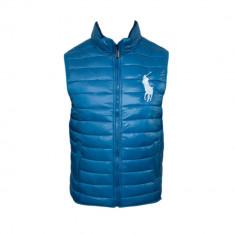 Vesta barbati - Vesta Polo Ralph Lauren, Turcoaz, de Fas, simpla, Toate mas F238
