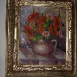 Tablou-Maci semnat Baciu, Flori, Ulei, Realism