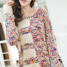 BL266-3 Bluza casual cu mohair si tricot - Bluza dama
