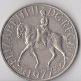 Moneda 1 crown 1977 - Marea Britanie, Europa