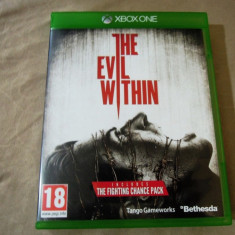 Joc The Evil Within, XBOX One, original, 79.99 lei - Jocuri Xbox One, Actiune, 18+, Single player