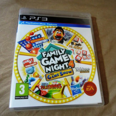 Joc Family Game Night 4 The Game Show, compatibil Move, PS3, original! - Jocuri PS3 Ea Games, Actiune, 3+, Multiplayer