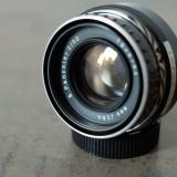 Obiectiv foto 50mm/2 Carl Zeiss Pancolar m42 Canon Nikon Sony NEX Fuji Olympus - Obiectiv DSLR Carl Zeiss, Standard, Manual focus