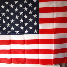 Steag AMERICA tricolor USA RO10 - Set echipament fotbal, Marime: Marime universala