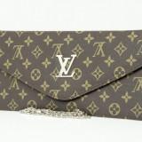 Geanta Dama Louis Vuitton, Asemanator piele - Geanta / Poseta / Plic de umar Louis Vuitton + Cadou Surpriza
