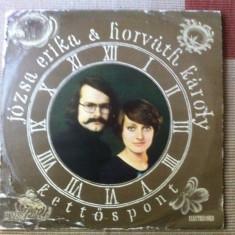 JOZSA ERIKA HORVATH KAROLY KETTOSPONT doua puncte disc vinyl folk rock lp 1978 - Muzica Folk electrecord, VINIL