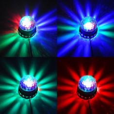 SENZATIONALA BILA CU LEDURI 2in1, EFECTE DISCO LIGHT, IDEALA CLUB, DISCO, ACASA. - Efecte lumini club