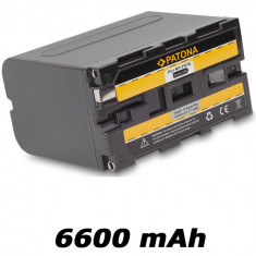 PATONA | Acumulator compatibil Sony NP-F970 NPF970 NP F970 | 6600 mAh - Baterie Aparat foto