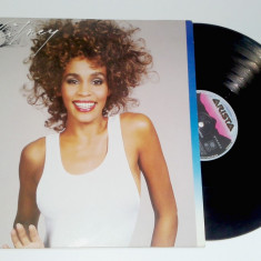 Vinil LP Withney Houston - Arista - 1987 - Muzica Pop