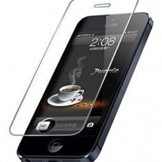 FOLIE DE STICLA TEMPERED GLASS IPHONE 5 5S 5C - Folie de protectie Apple, Anti zgariere