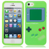 Jocuri Game Boy - Game Boy Style Protective Silicone Cover Case for iPhone 5 Green WW87006987
