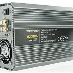 Whitenergy Invertor de tensiune 06588, 24V/ 230V, 1000W - Invertor Auto