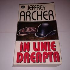 Roman - JEFFREY ARCHER - IN LINIE DREAPTA
