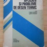 GH. HUSEIN--APLICATII SI PROBLEME DE DESEN TEHNIC