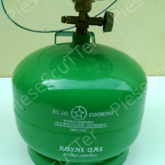 Butelie + Aragaz - Arzator Camping - Voiaj 3L - Litri ( nu necesita reductie )