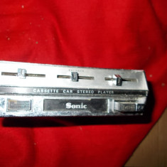 CASETOFON AUTO SONIC STEREO, MADE IN JAPAN .