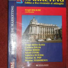 Marketing - Virgil Balaure (editia a ll-a) - Carte Marketing
