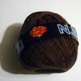 Fire - Fir de tricotat sau croșetat, 100% lână, MARO