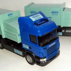 Herpa SCANIA R09 containere EHG Recycling 1:87 - Macheta auto Alta
