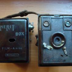 Aparat de Colectie - Aparat foto, vechi, de colectie MERIT BOX Germany anii '30 . Rar ! Foto film .