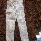 Pantaloni animal print fetite, 7-9 ani, In extenso, de zi, COMANDA MINIMA 30 LEI