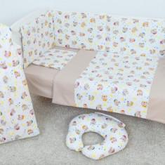 Bebedeco-Lenjerie 3 Piese Pisicuta Mea - Lenjerie pat copii