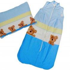 Sac De Dormit Mykids Cu Pernita Cadou 80X50 Cm - Sac de dormit copii