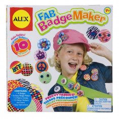 Set Pentru Creat Insigne Alex Toys - Jocuri arta si creatie