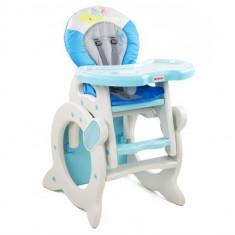 Scaun De Masa 2 In 1 Mykids Baby Zoo Albastru