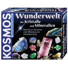 Minunata Lume A Cristalelor Si Mineralelor - Kosmos