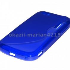 Husa telefon CatMobile, Albastru, Silicon, Husa - HUSA SILICON ALCATEL OT-995 - CURIER GRATUIT