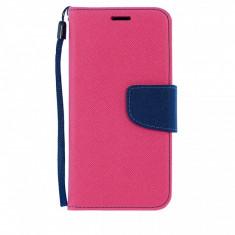 Husa piele Samsung Galaxy S6 Fancy Book roz