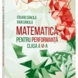 Culegere Matematica - Matematica pentru performanta. Clasa a 6-a. Clubul matematicienilor