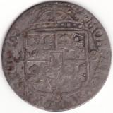 Regatul Poloniei si Marele Ducat al Lituaniei - 18 Groszy 165X - Argint - Moneda Medievala, Europa, An: 1659