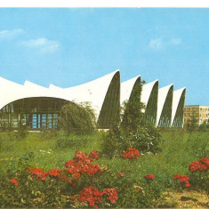 Carte Postala, Necirculata, Fotografie - CPI (B5517) MUNICIPIUL GHEORGHE GHEORGHIU DEJ. COMPLEXUL SPORTIV