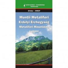 Dimap Harta Turistica Muntii Metaliferi
