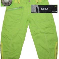 Pantaloni dama Only, Trei-sferturi - Pantaloni trei sfert casual ONLY (dama 34) cod-705372