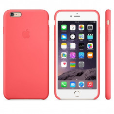 HUSA SILICON ORIGINALA APPLE IPHONE 6 6S PLUS ROZ MGXW2ZM/A, iPhone 6 Plus, Carcasa, Fara snur